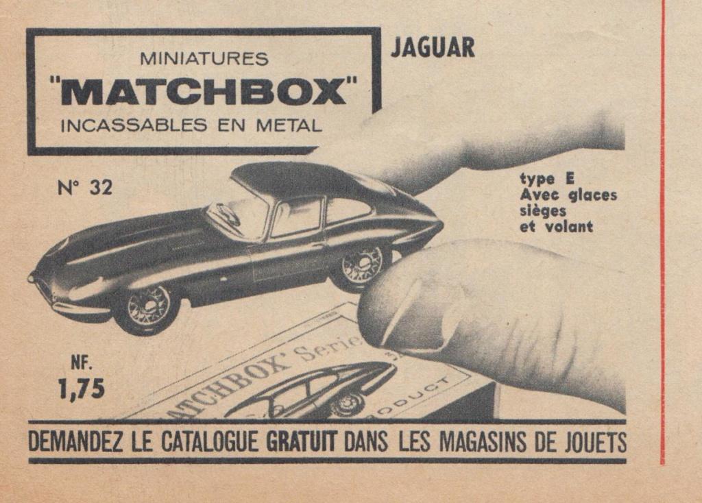 Publicités Matchbox début années 60 - Matchbox ads early 60s Pub_ma11