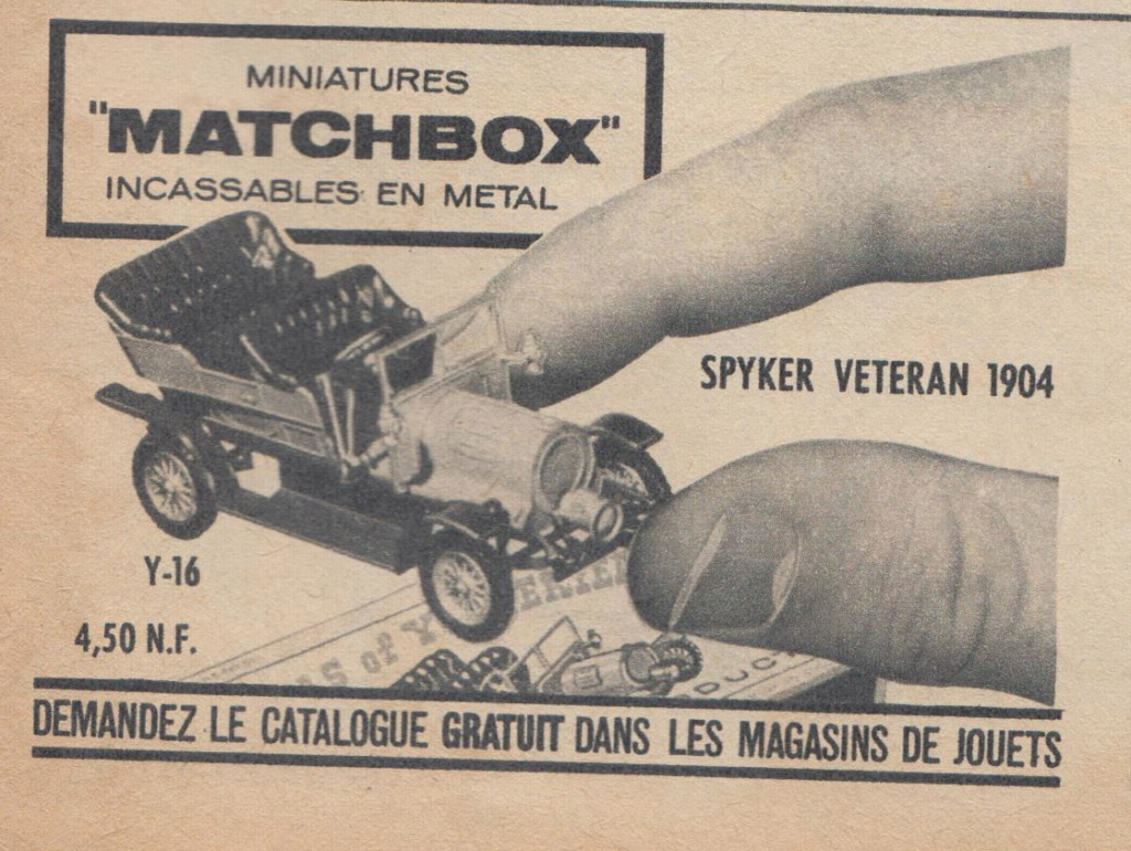 Publicités Matchbox début années 60 - Matchbox ads early 60s Pub_ma13