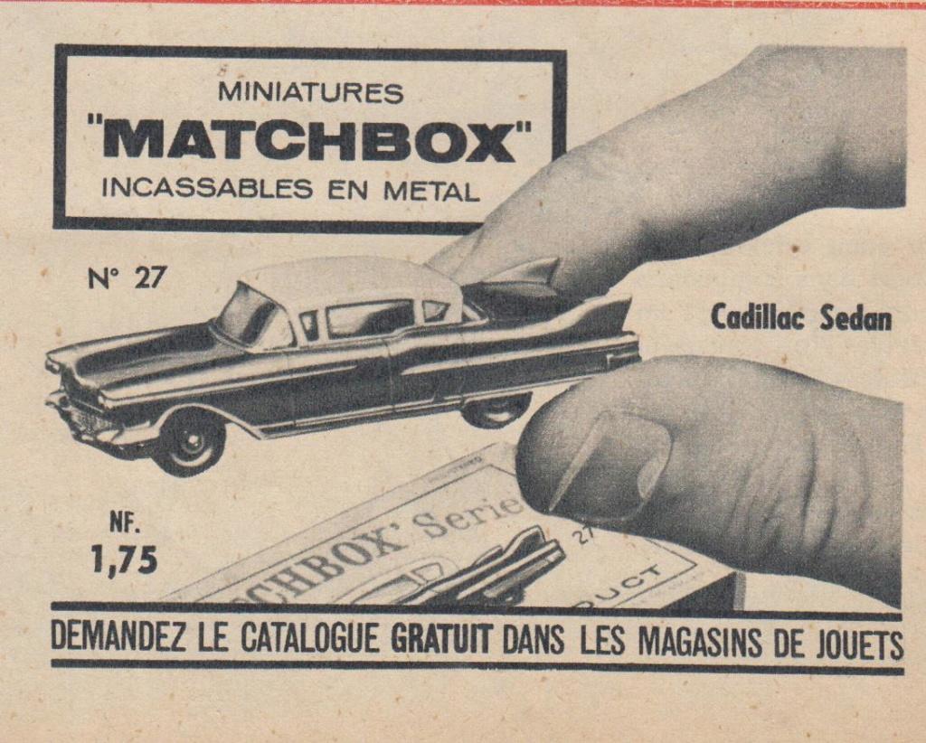 Publicités Matchbox début années 60 - Matchbox ads early 60s Pub_ma14