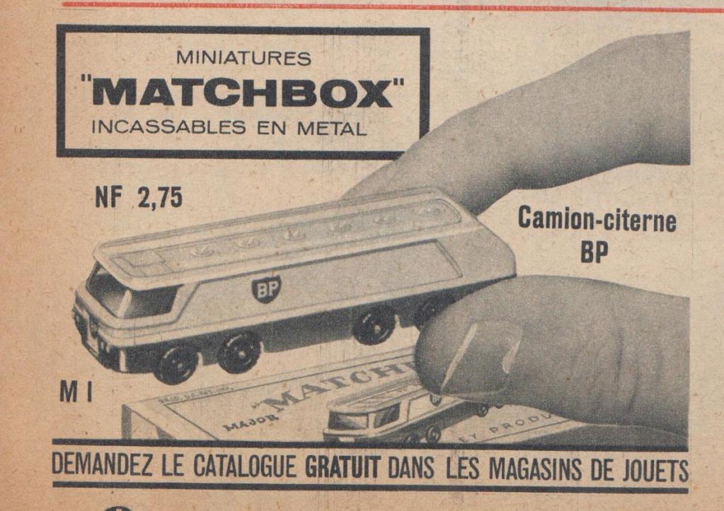 Publicités Matchbox début années 60 - Matchbox ads early 60s Pub_ma15