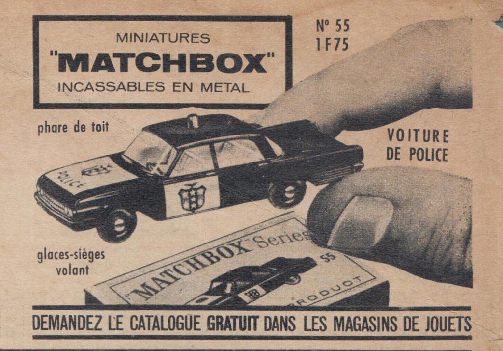 Publicités Matchbox début années 60 - Matchbox ads early 60s Pub_ma16