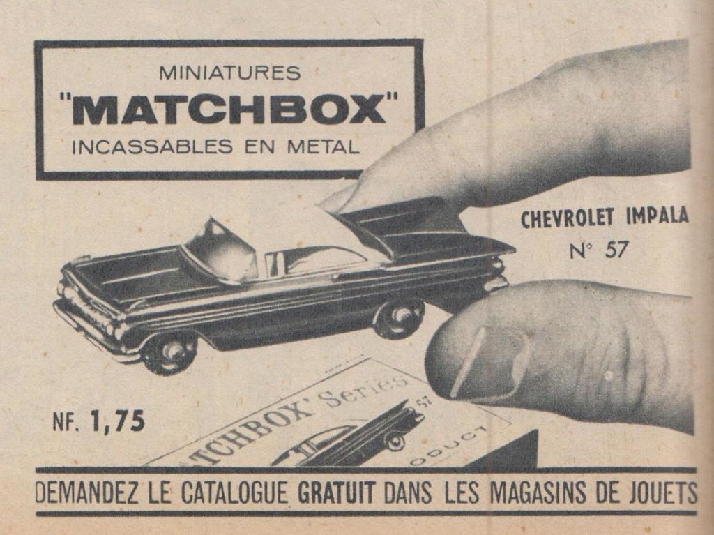 Publicités Matchbox début années 60 - Matchbox ads early 60s Pub_ma17