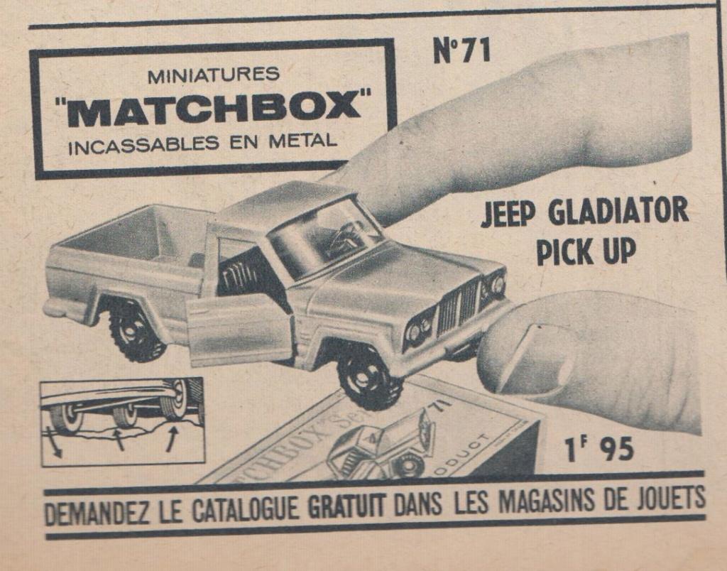 Publicités Matchbox début années 60 - Matchbox ads early 60s Pub_ma18