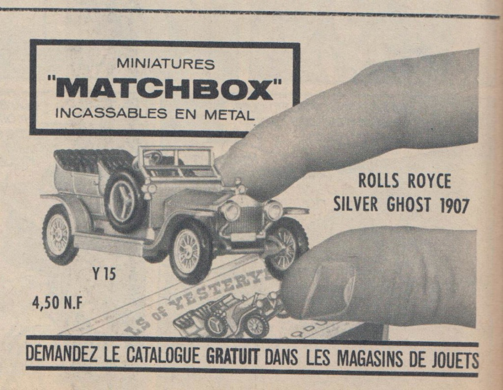 Publicités Matchbox début années 60 - Matchbox ads early 60s Pub_ma19