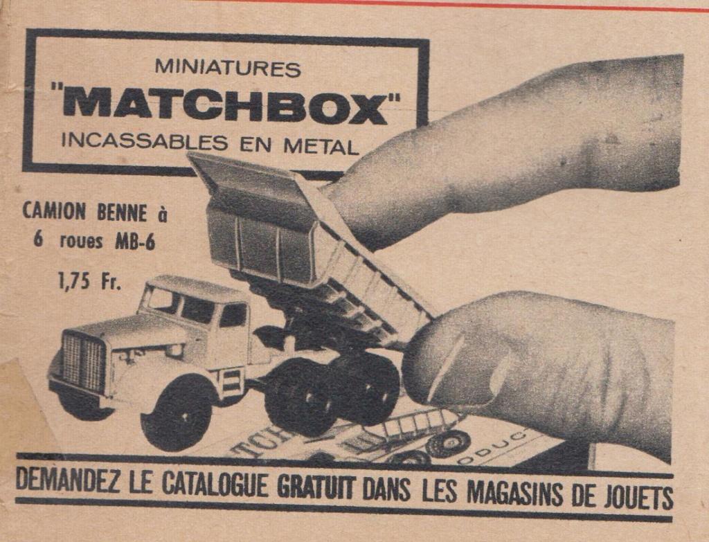 Publicités Matchbox début années 60 - Matchbox ads early 60s Pub_ma20