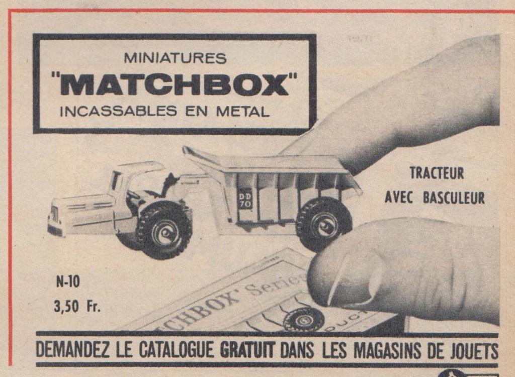 Publicités Matchbox début années 60 - Matchbox ads early 60s Pub_ma21