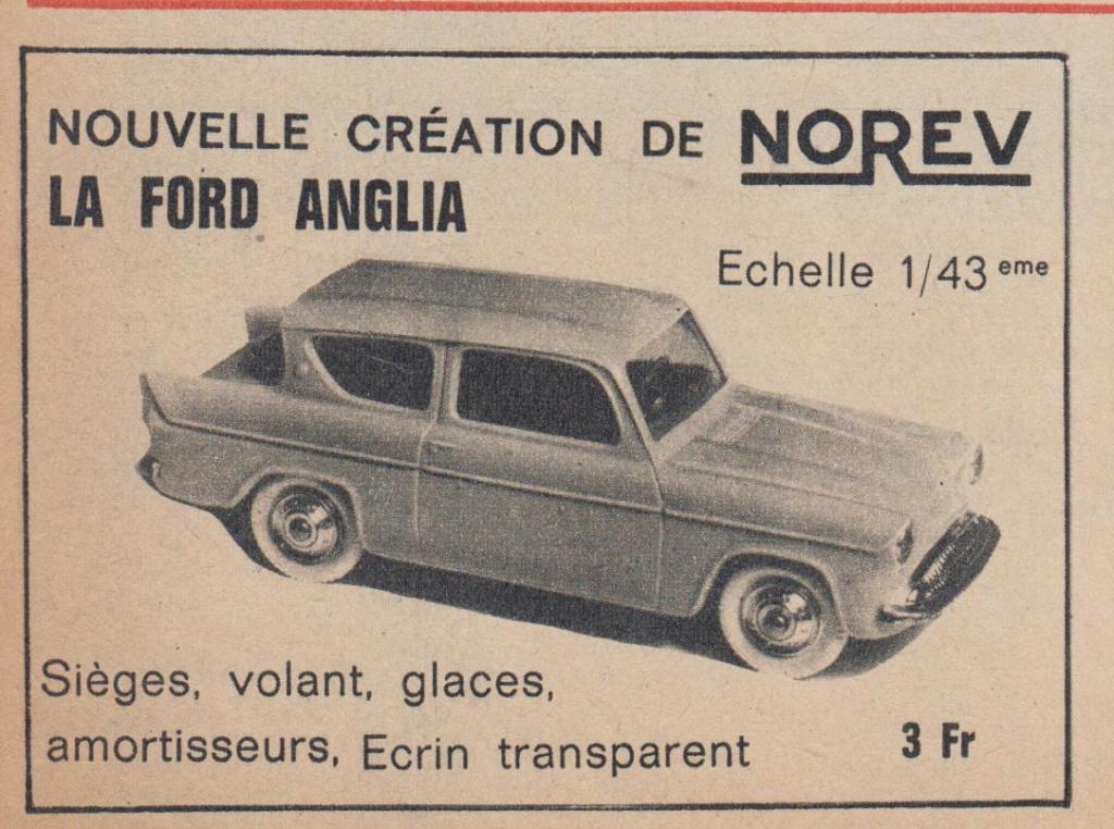 Publicités Norev années 60 -  Norev Ads early 60s Pub_no10