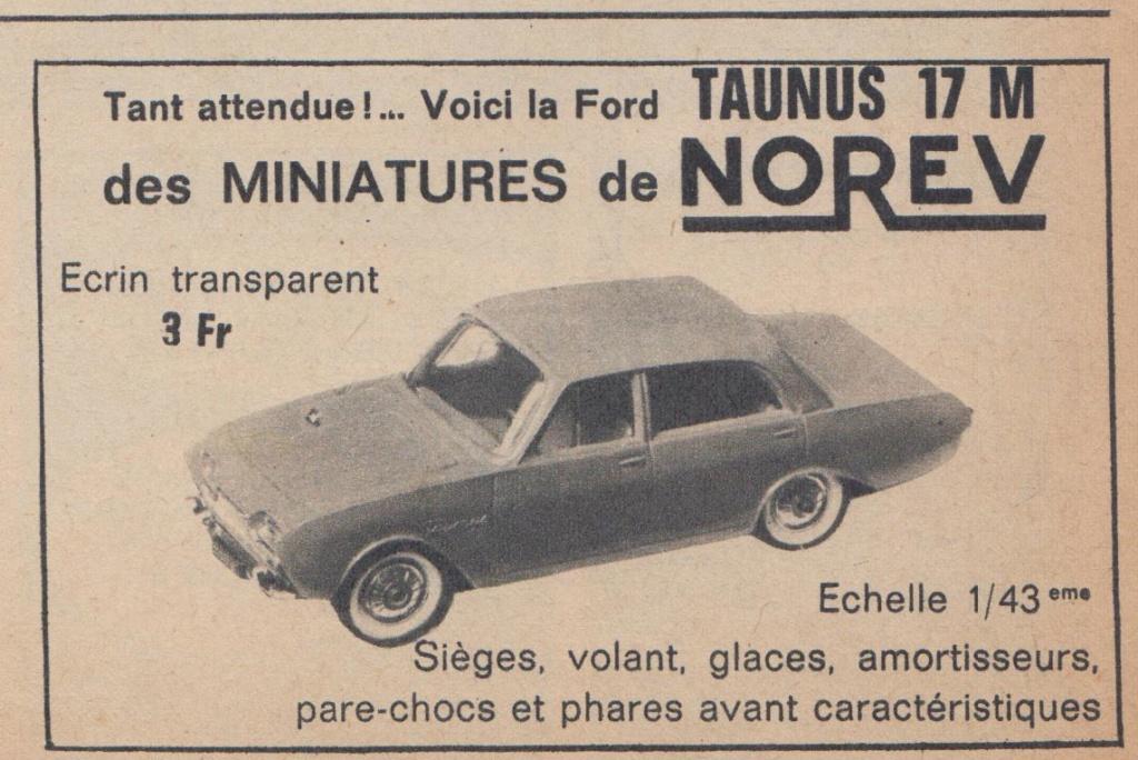 Publicités Norev années 60 -  Norev Ads early 60s Pub_no11