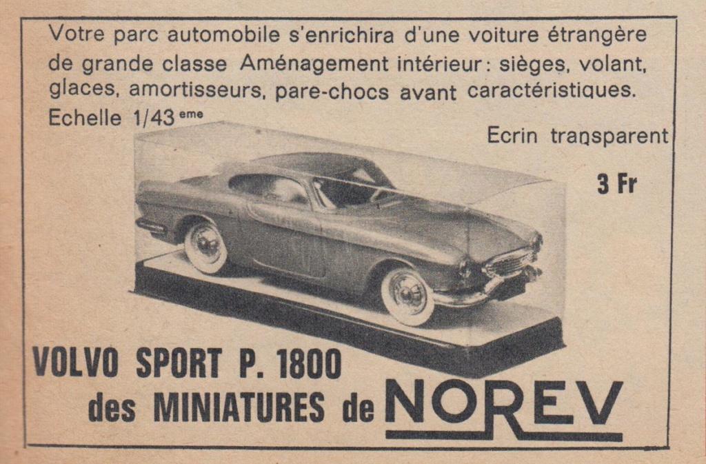 Publicités Norev années 60 -  Norev Ads early 60s Pub_no13