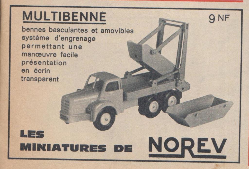 Publicités Norev années 60 -  Norev Ads early 60s Pub_no15