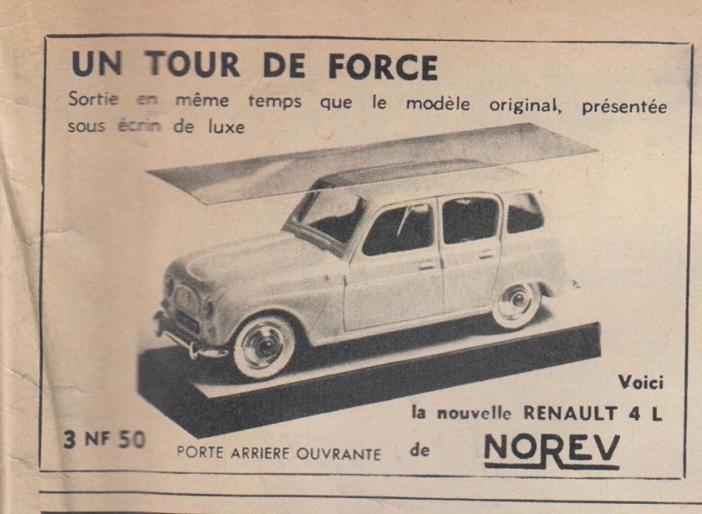 Publicités Norev années 60 -  Norev Ads early 60s Pub_no16