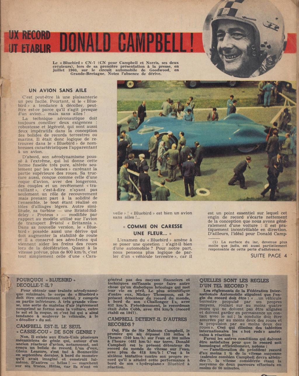 Le Journal de Tintin - de 1959 à 1964 les articles sur l'automobile et la moto Record11