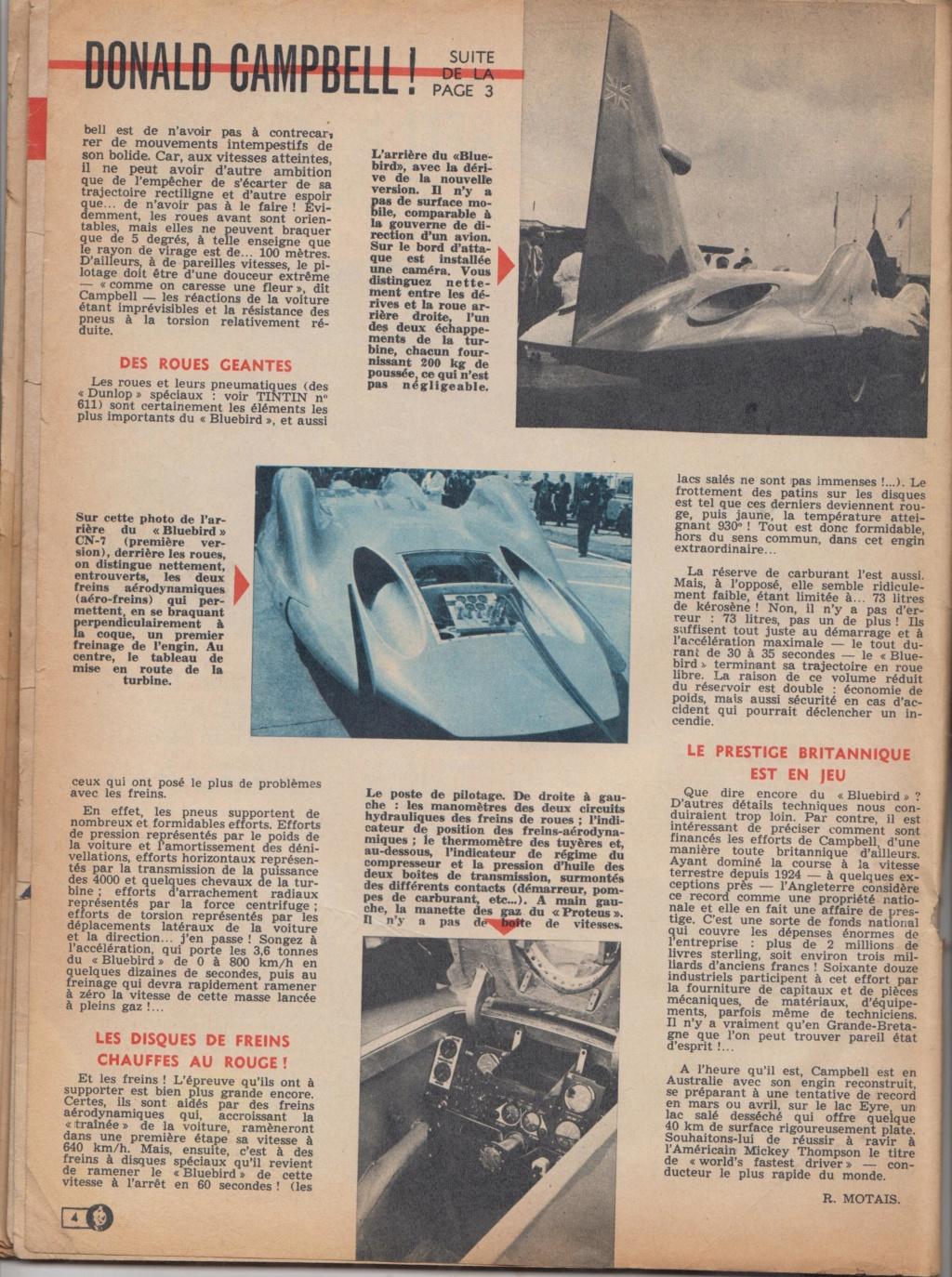Le Journal de Tintin - de 1959 à 1964 les articles sur l'automobile et la moto Record12