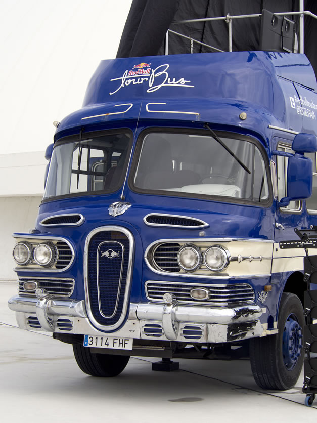 1961 Skoda Bus  - 58' Edsel look bus - modified in Spain and used as a mobile stage for Red Bull campaign  Redbul13