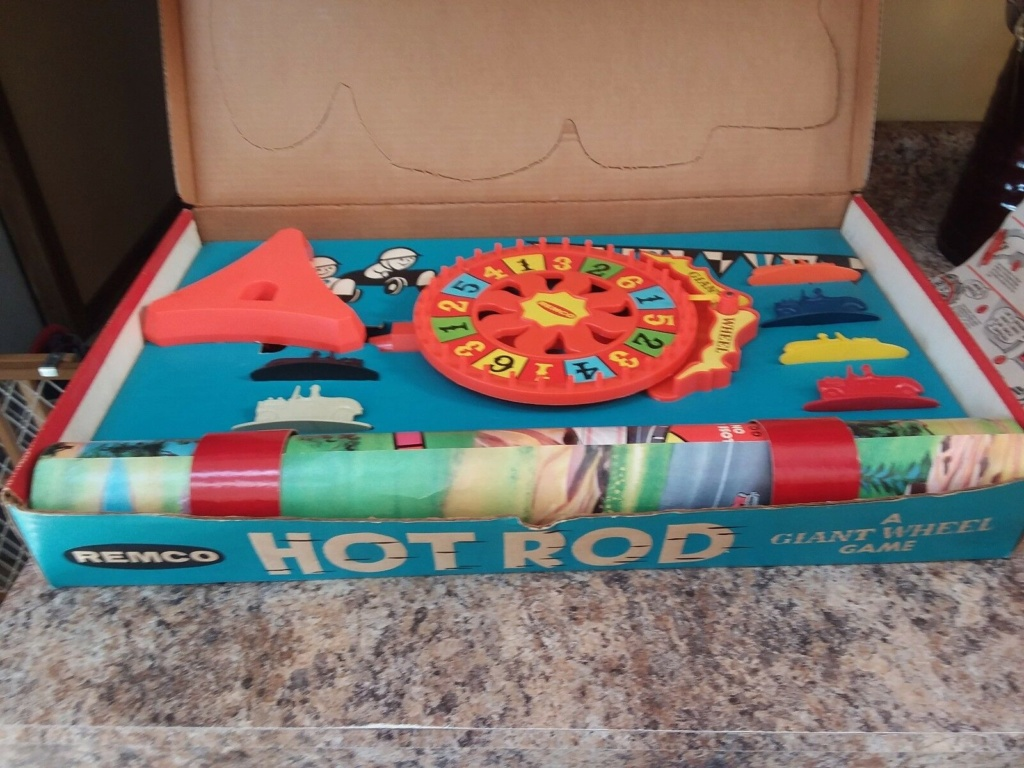 Remco Hot Rod Sport Car Race A Giant Wheel Game Remco210