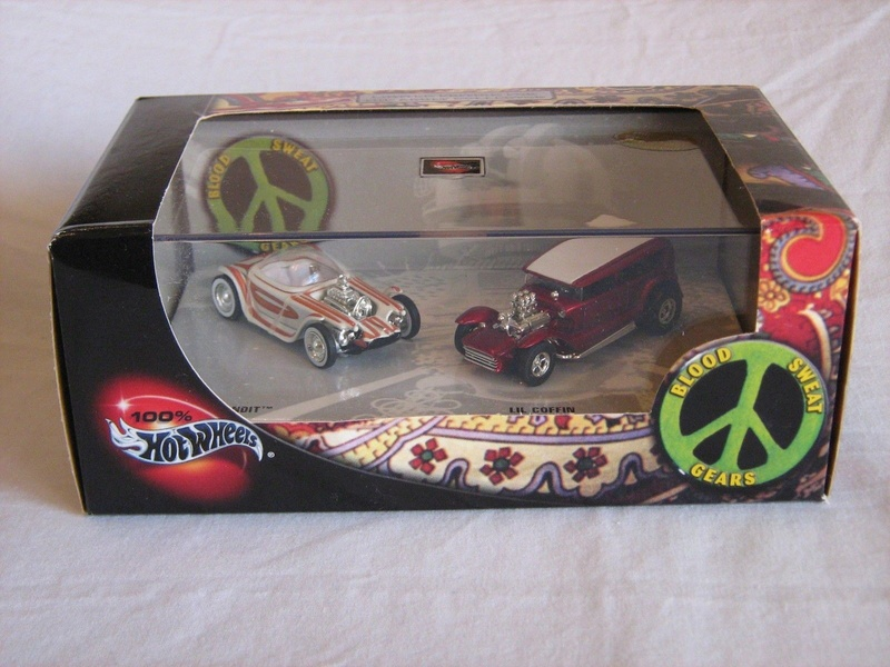 Hot Wheels Collectible Blood Sweet Gears - Beatnik Bandit - Lil' Coffin - show rod - Ed Roth - Darrill Starbird S-l16011