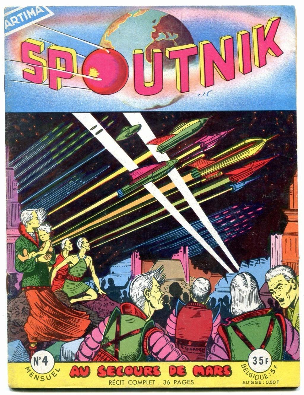 Spunik - Spoutnik - satellite, space age, design & style S-l16062