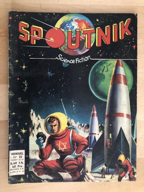 Spunik - Spoutnik - satellite, space age, design & style S-l16065