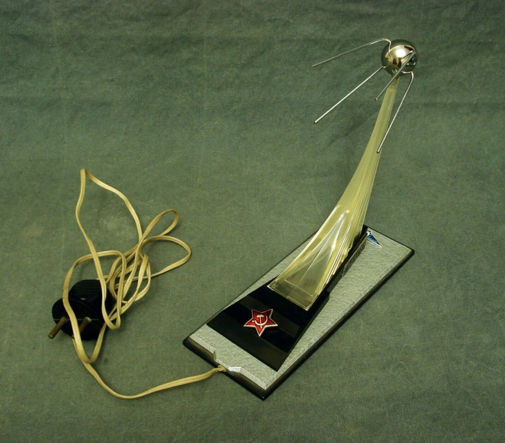 Spunik - Spoutnik - satellite, space age, design & style S-l16074