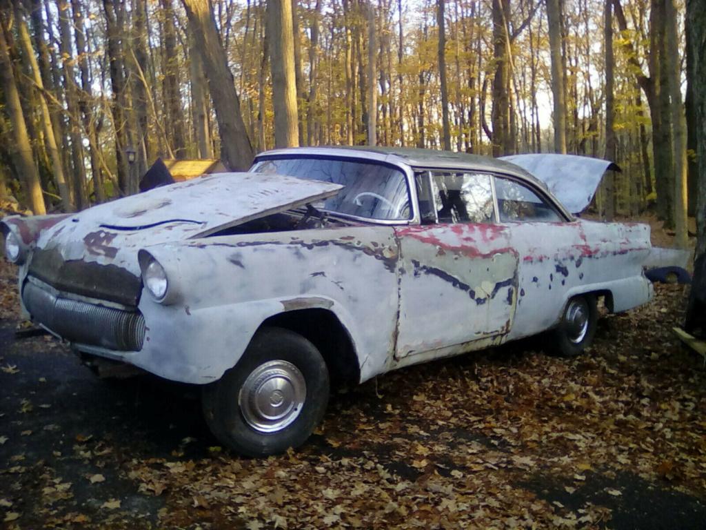 '55 Ford Survivor custom à restaurer sur ebay S-l16111