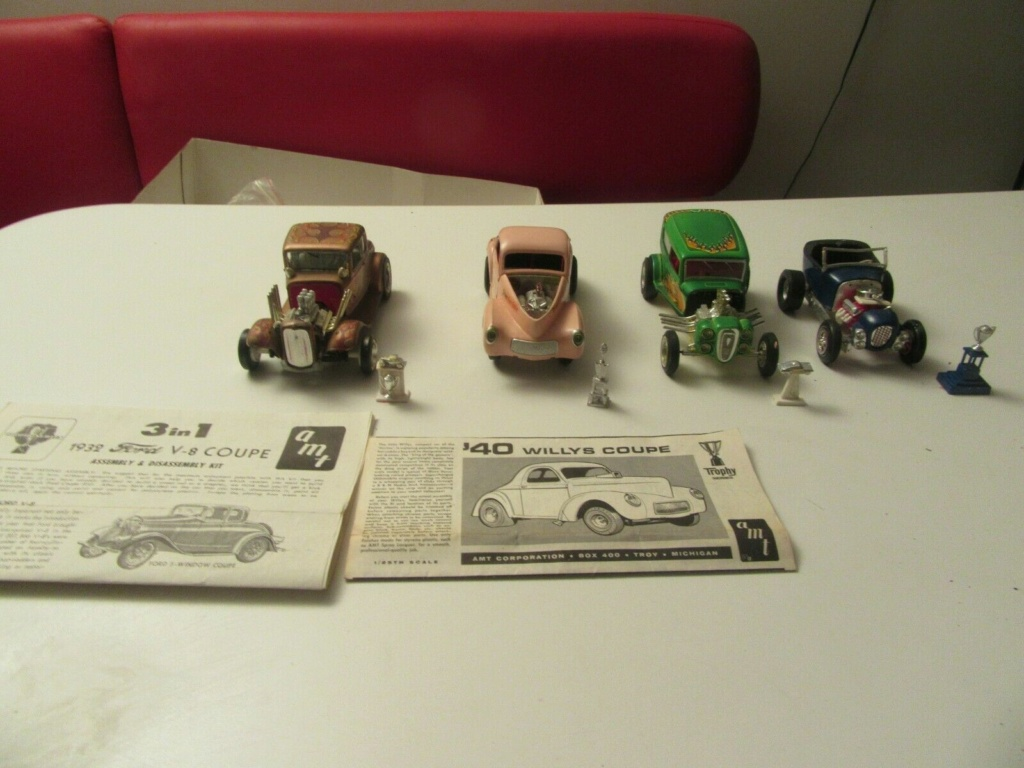 Vintage built automobile model kit survivor - Hot rod et Custom car maquettes montées anciennes - Page 15 S-l16204