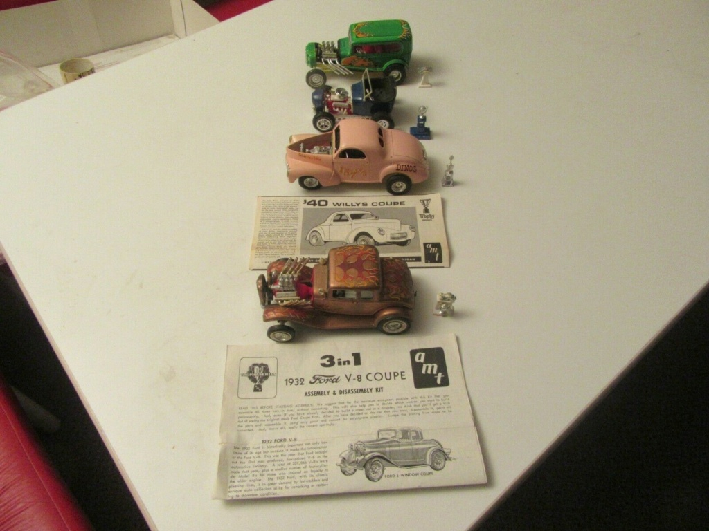 Vintage built automobile model kit survivor - Hot rod et Custom car maquettes montées anciennes - Page 15 S-l16205