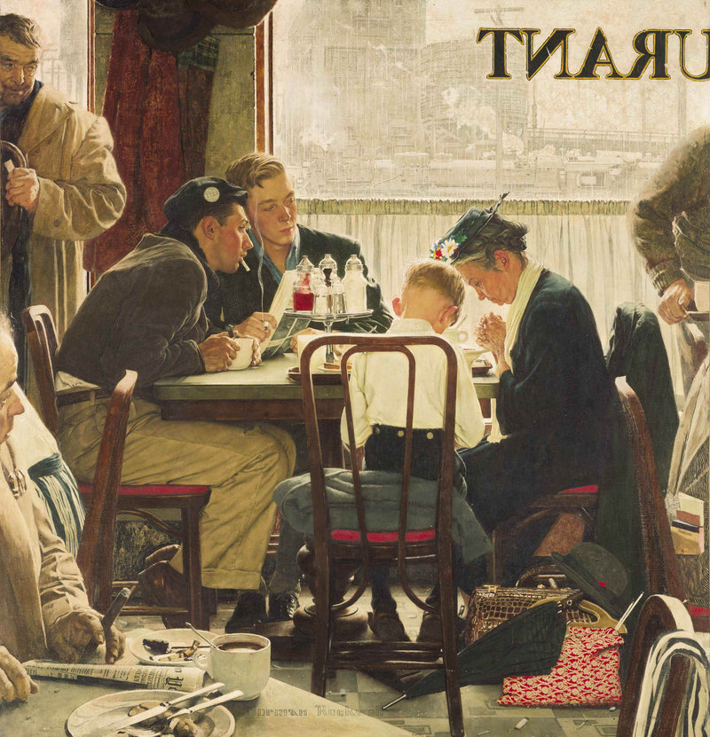 Norman Rockwell - painter (1894 -1978) Saying10