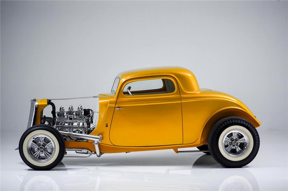 1933 Ford Custom Hot Rod - Screamin' Kat - Rick Dore Sc10