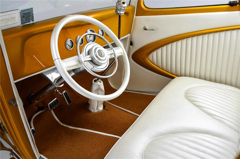1933 Ford Custom Hot Rod - Screamin' Kat - Rick Dore Sc212