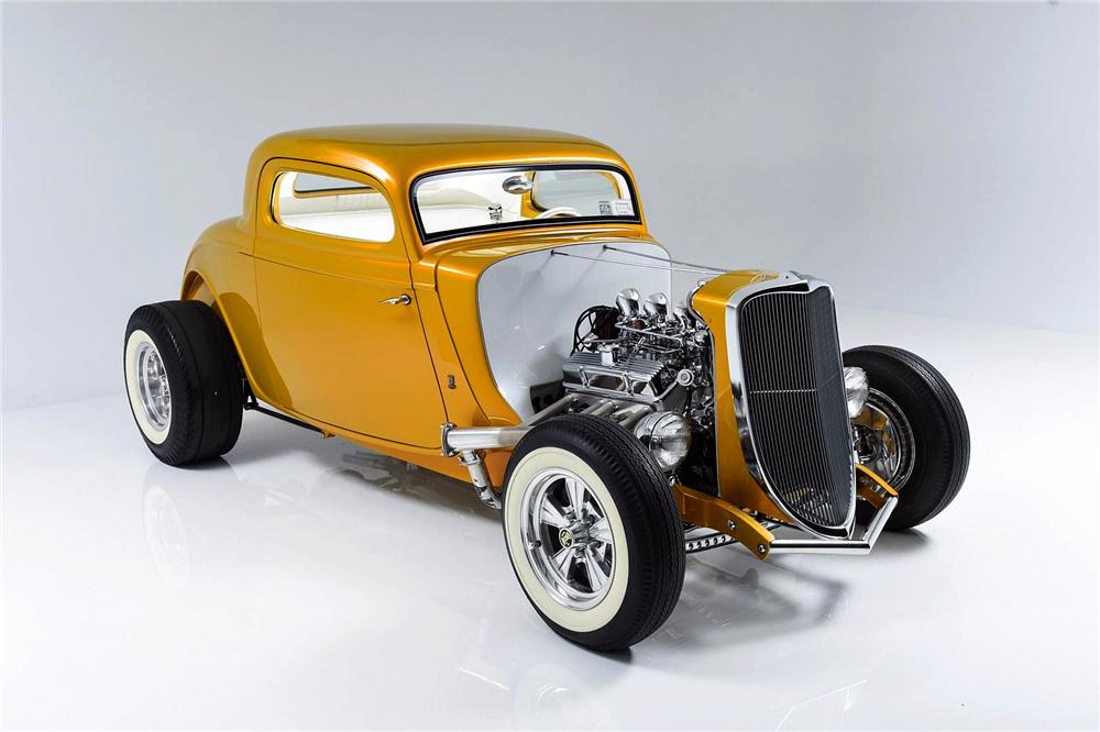 1933 Ford Custom Hot Rod - Screamin' Kat - Rick Dore Sc311