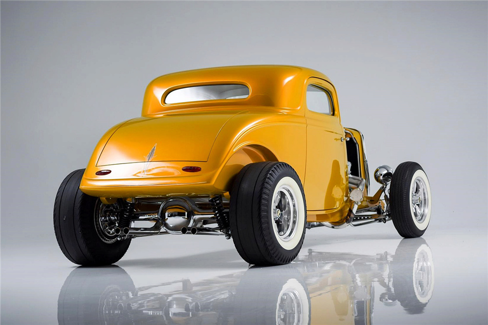 1933 Ford Custom Hot Rod - Screamin' Kat - Rick Dore Sc412