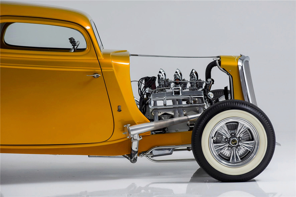 1933 Ford Custom Hot Rod - Screamin' Kat - Rick Dore Sc511