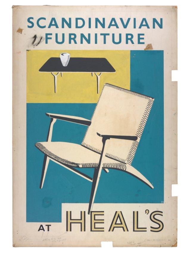 Charles Feeney - mid-century posters Scandi10
