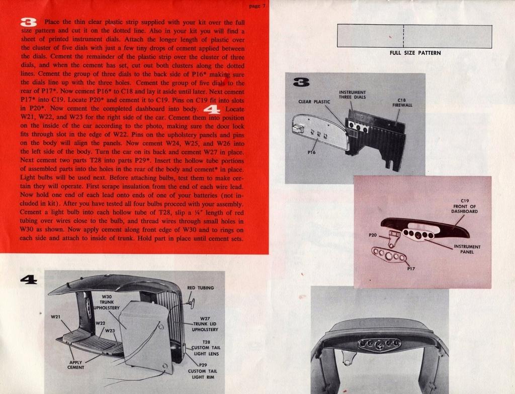Big Deuce Monogram 1/8 scale Scree130