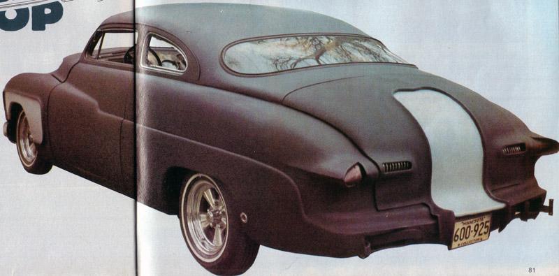 1950 Mercury - Blue Mirage - Sonny Morris built by Joe Bailon Sonny-10