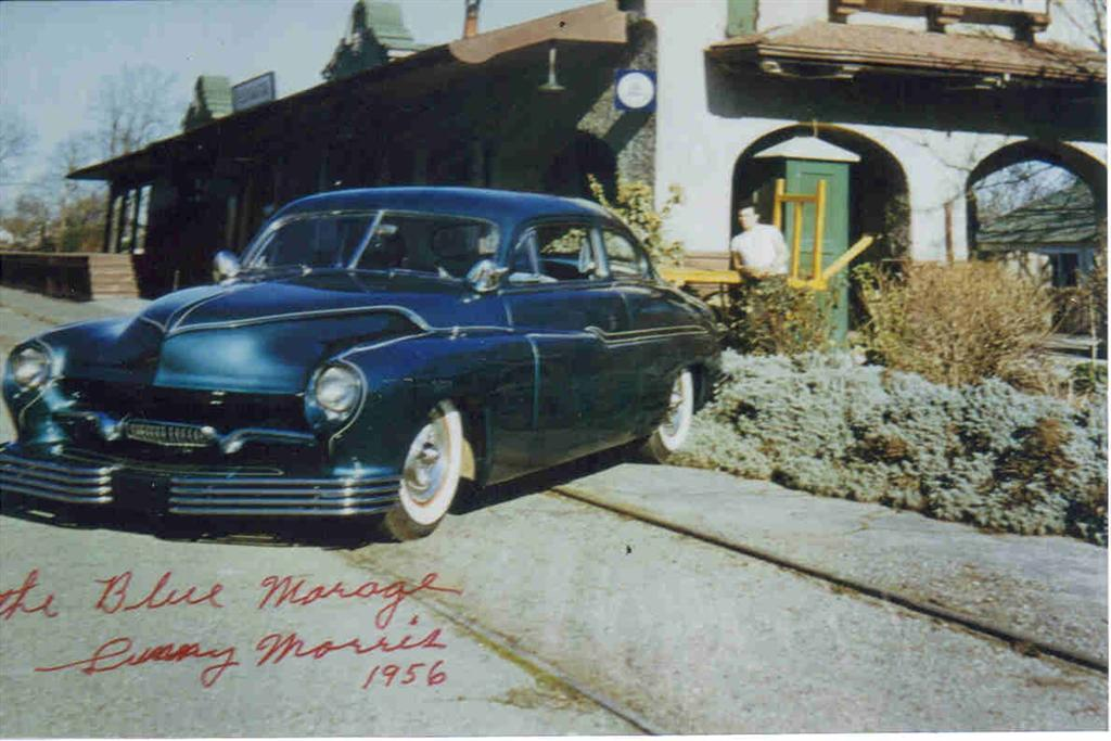 1950 Mercury - Blue Mirage - Sonny Morris built by Joe Bailon Sonny110