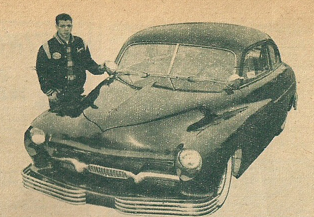 1950 Mercury - Blue Mirage - Sonny Morris built by Joe Bailon Sonnym10