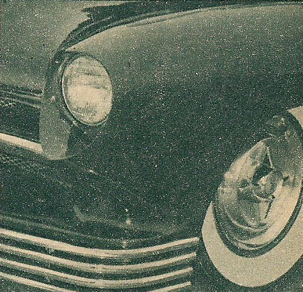 1950 Mercury - Blue Mirage - Sonny Morris built by Joe Bailon Sonnym11