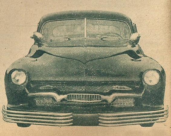 1950 Mercury - Blue Mirage - Sonny Morris built by Joe Bailon Sonnym12