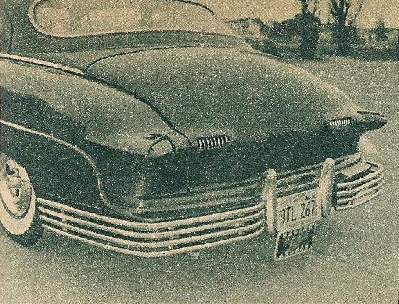 1950 Mercury - Blue Mirage - Sonny Morris built by Joe Bailon Sonnym13