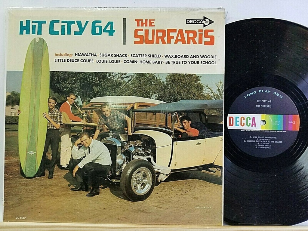 Records with car or motorbike on the sleeve - Disques avec une moto ou une voiture sur la pochette - Page 2 Surfar10