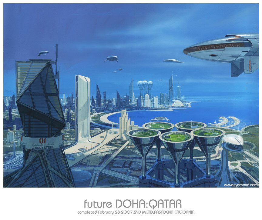 Syd Mead - Legendary sci-fi artist Syd-me10