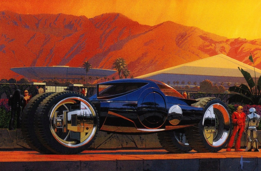 Syd Mead - Legendary sci-fi artist Syd-me16