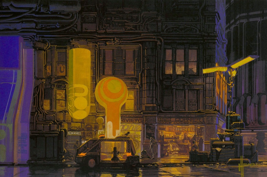 Syd Mead - Legendary sci-fi artist Syd-me20