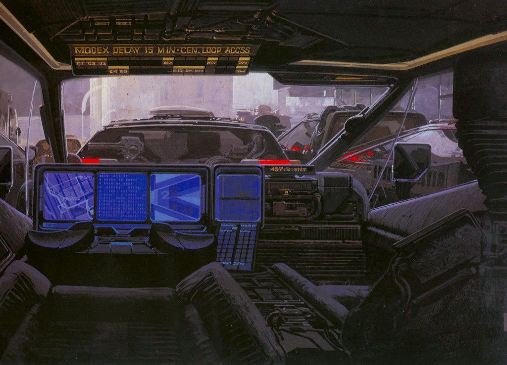 Syd Mead - Legendary sci-fi artist Syd-me25