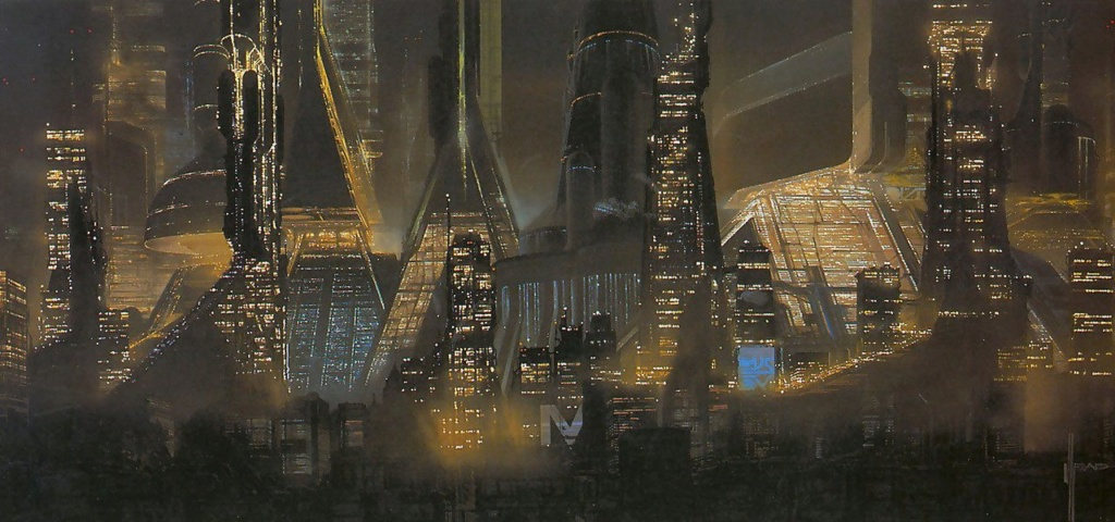 Syd Mead - Legendary sci-fi artist Syd-me34