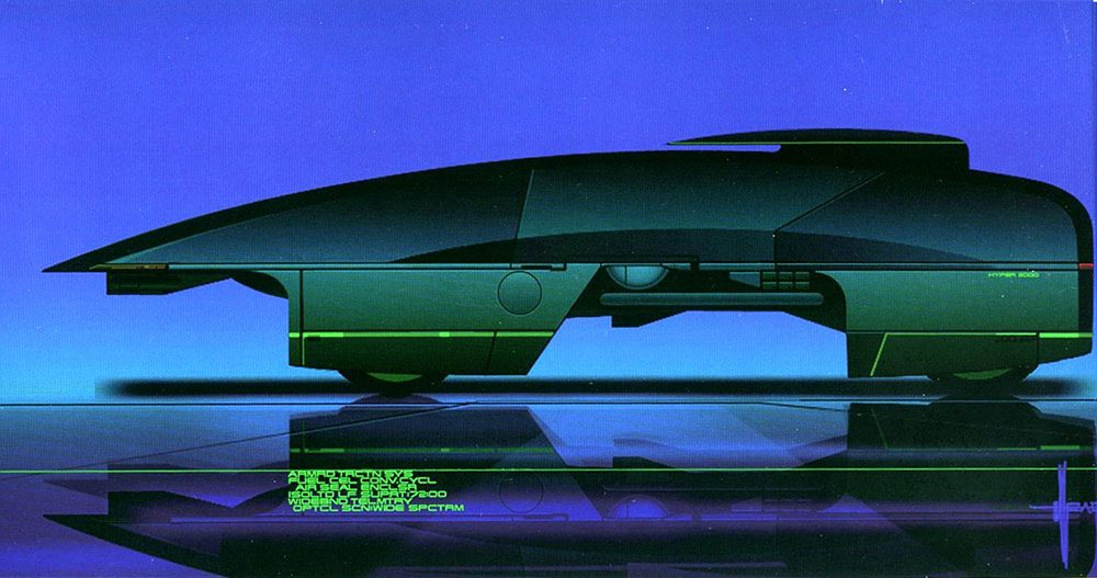 Syd Mead - Legendary sci-fi artist Syd-me36