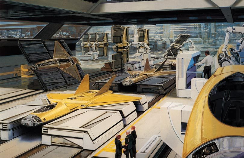 Syd Mead - Legendary sci-fi artist Syd-me37
