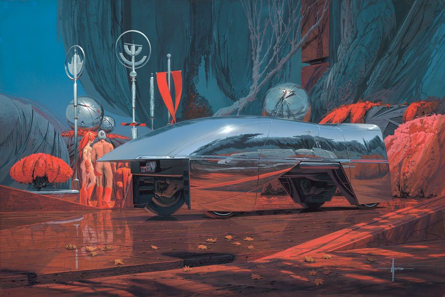 Syd Mead - Legendary sci-fi artist Syd-me38