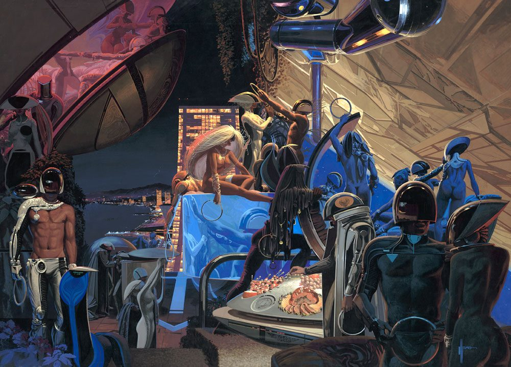 Syd Mead - Legendary sci-fi artist Syd-me40